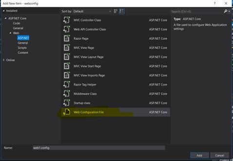 Increase Timeout for ASP NET Core applications | madhukar gilla